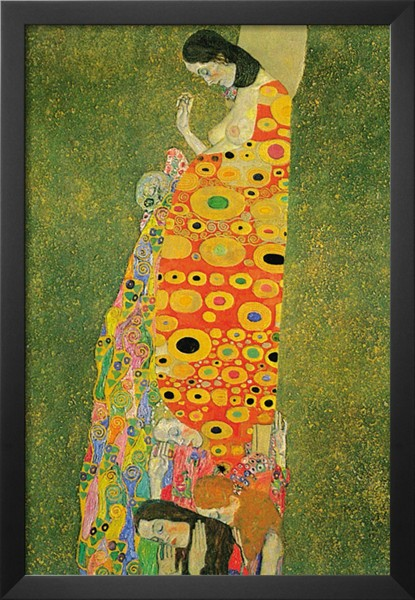 Abandoned hope gustav klimt 39 s paintings for sale on for Gustav klimt original paintings for sale
