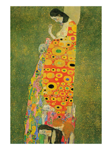 Abandoned Hope - Gustav Klimt Painting