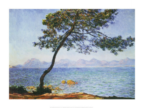 Antibes-Claude Monet Painting