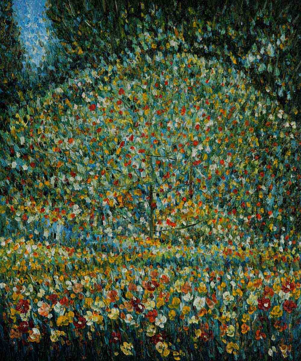 Apple Tree I - Gustav Klimt Painting
