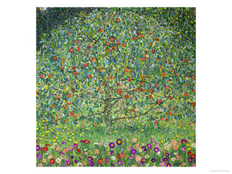 Apple Tree, 1912 - Gustav Klimt Painting