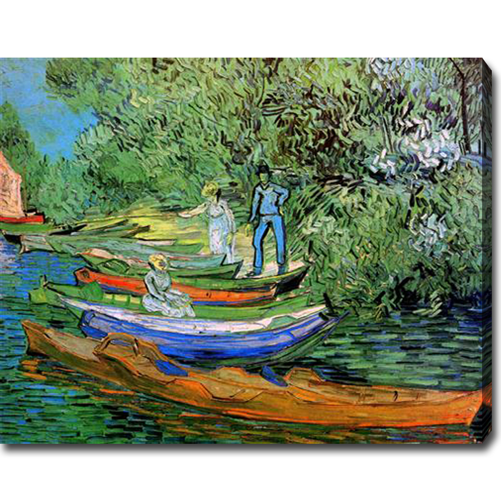 Van gogh oil painting reproduction canvas art high quality auvers sur oise vincent van gogh oil on canvas reviewsmspy