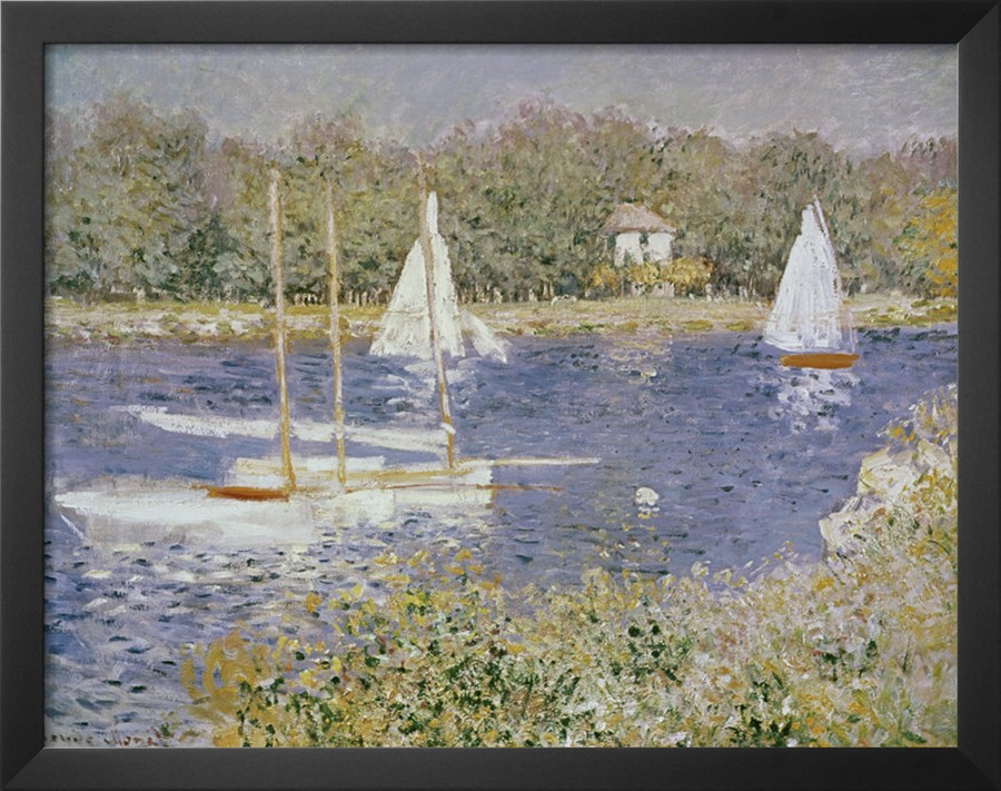 Basin D Argenteuil-Claude Monet Painting