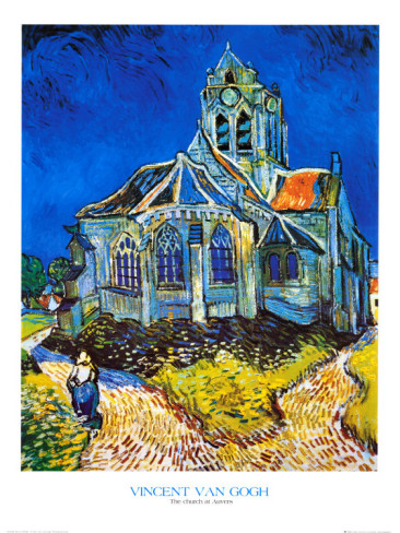 Church at Auvers - Vincent Van Gogh Paintings