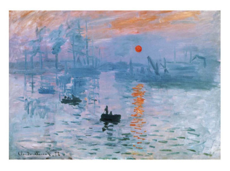 Impression Soleil Levant-Claude Monet Painting