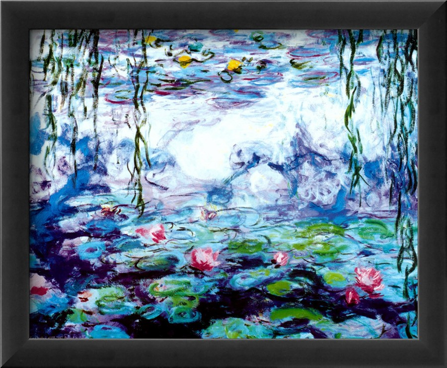 Nympheas-Claude Monet Painting