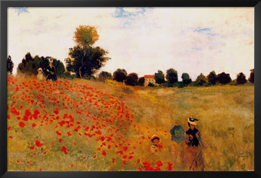 Poppies-Claude Monet Painting