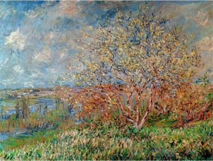 Spring, 1880-Claude Monet Painting