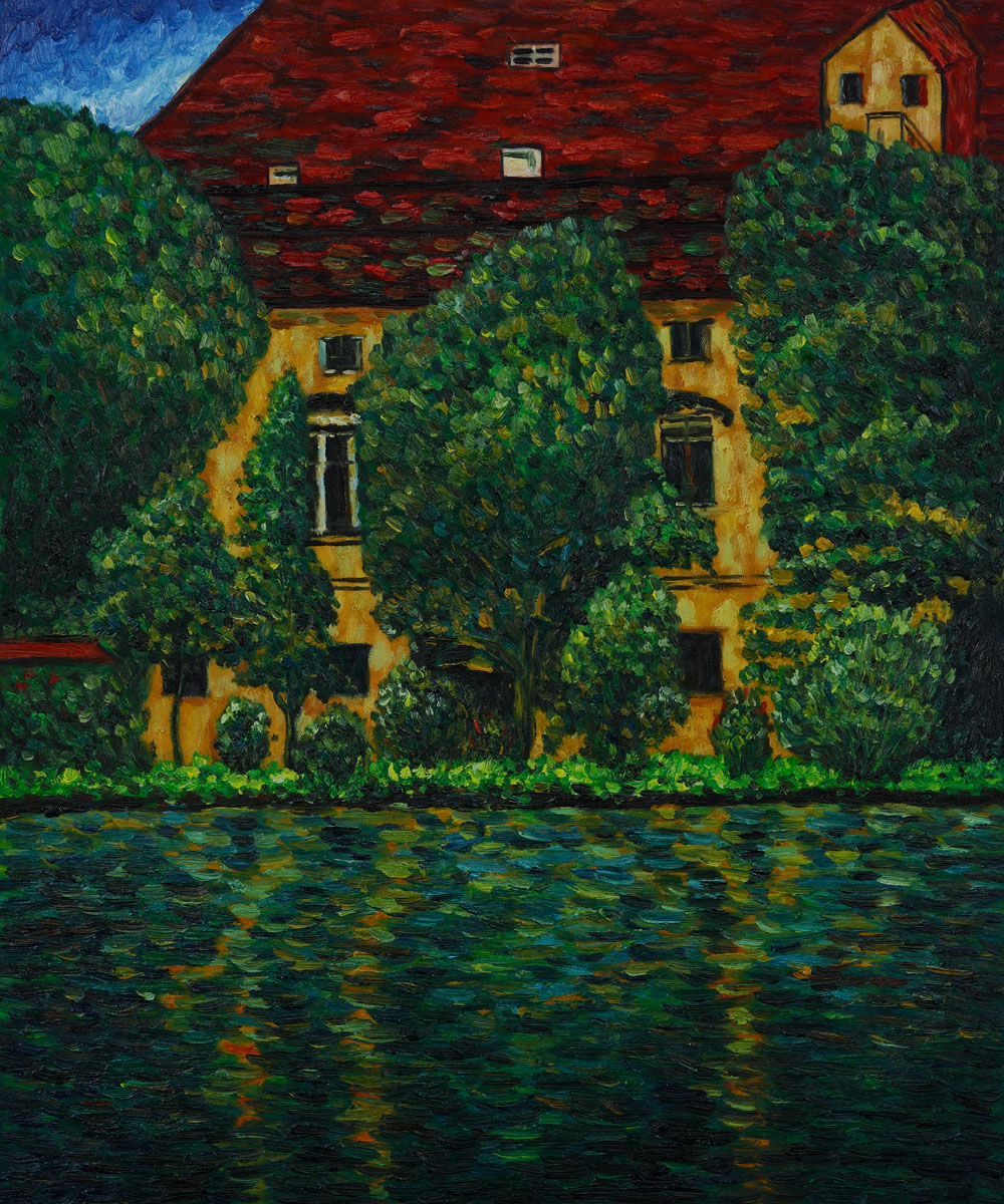 Schloss Kammer On Attersee Ii-Claude Monet Painting