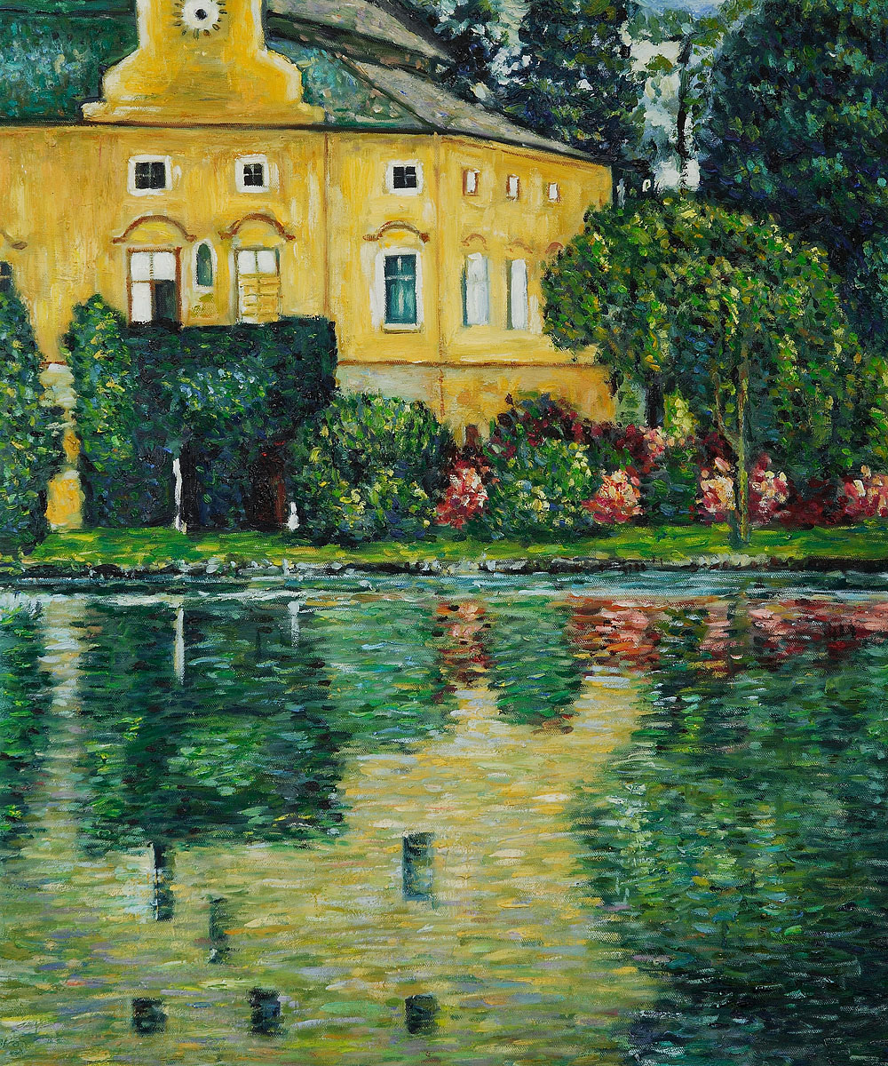 Schloss Kammer On Attersee - Gustav Klimt Painting