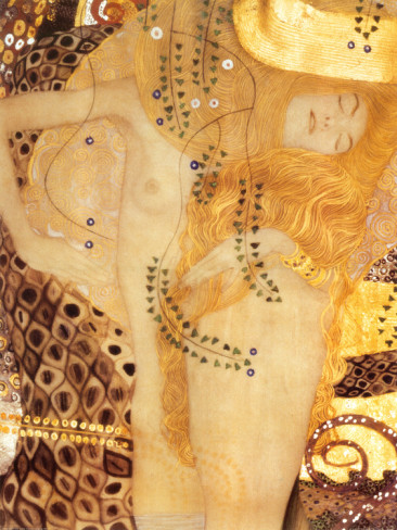 Sea Serpent, C.1907 - Gustav Klimt Painting