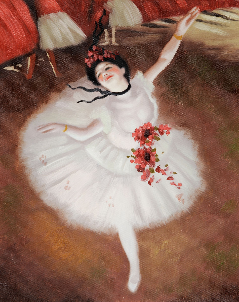 Star Dancer (On Stage) by Edgar Degas
