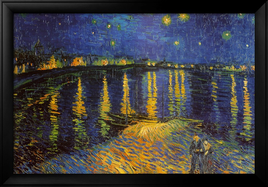 Starry Night Over the Rhone - Vincent Van Gogh Paintings
