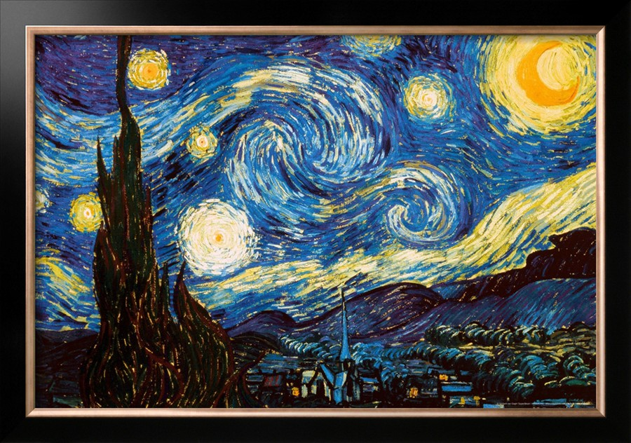 Starry Night,Shop Van Gogh's oil paintings reproduction