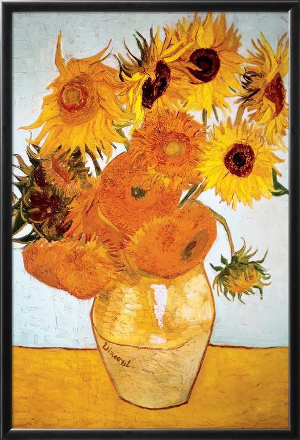 Sunflowers - Vincent Van Gogh Paintings