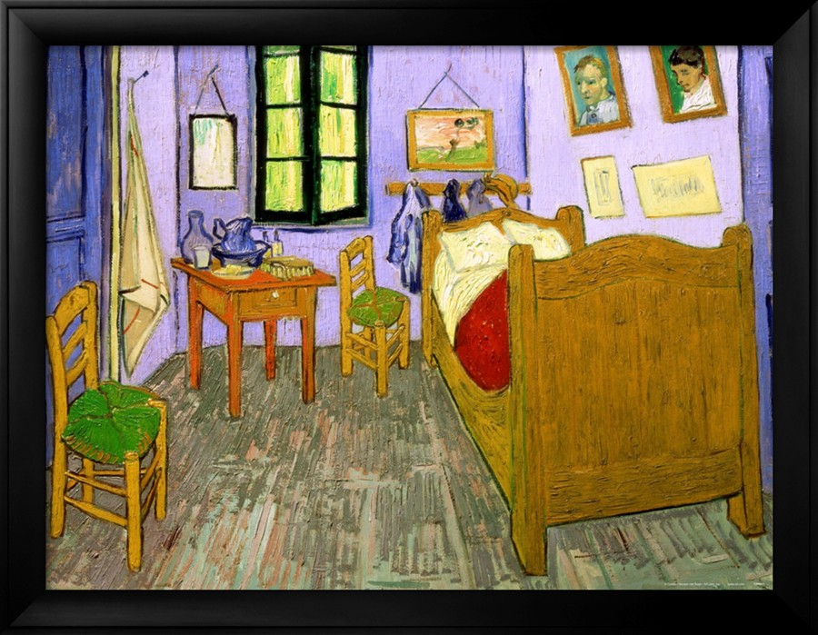 the bedroom at arles,shop van gogh's oil paintings reproduction