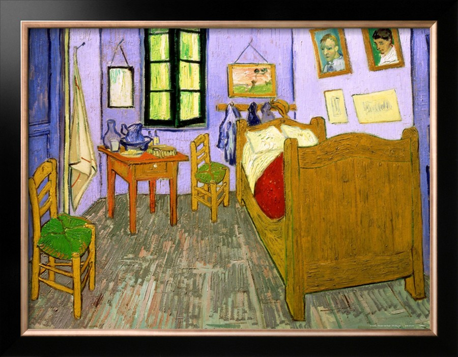 The Bedroom at Arles - Vincent Van Gogh Paintings
