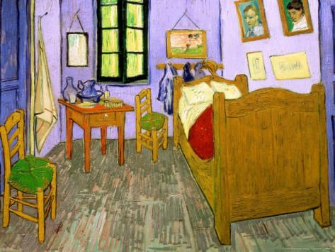The Bedroom at Arles,Shop Van Gogh\'s oil paintings reproduction