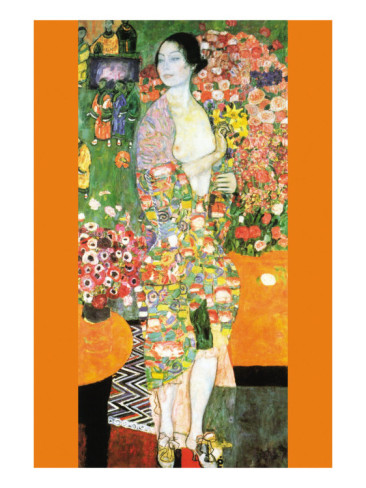The Dancer - Gustav Klimt Painting