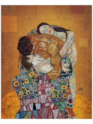 The Family - Gustav Klimt Painting