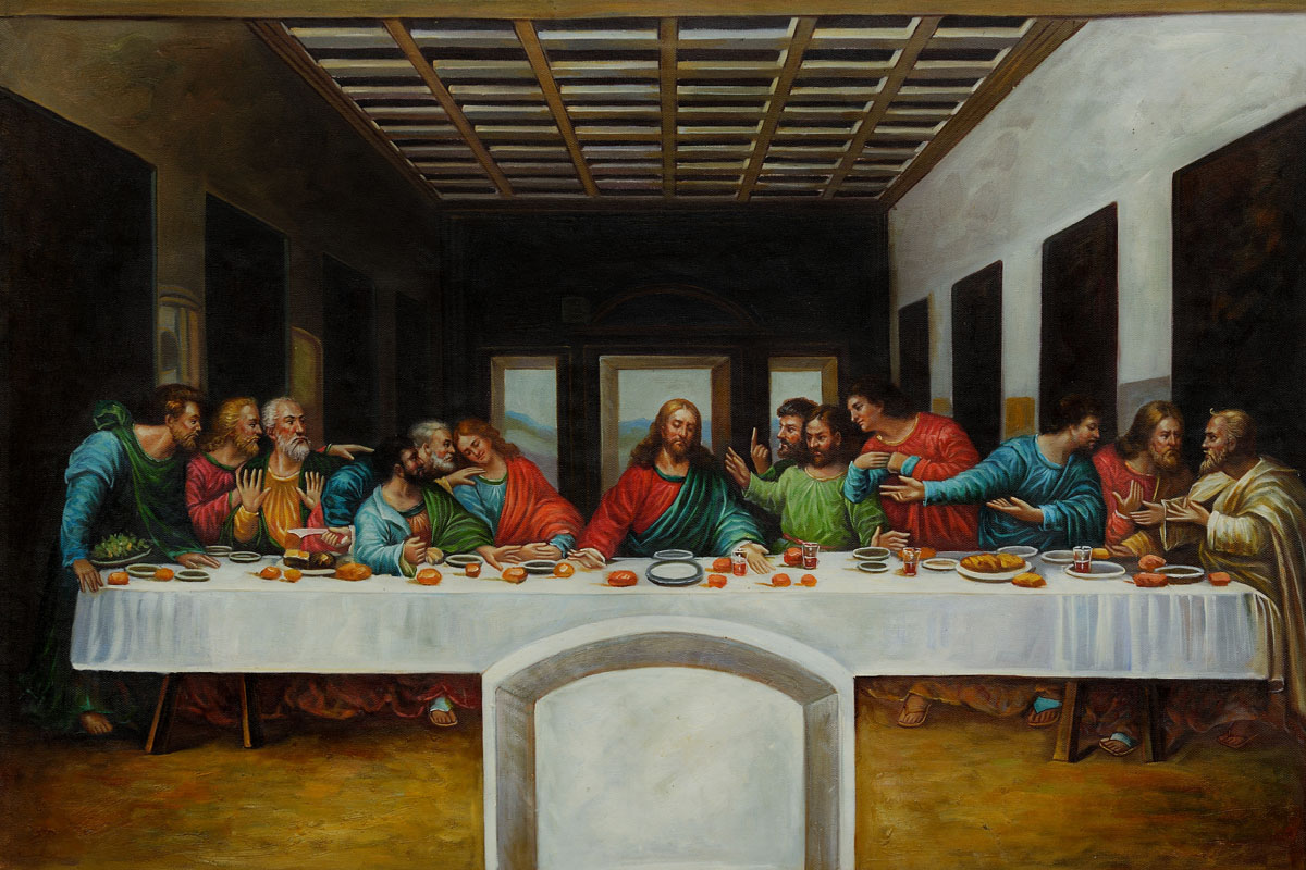 The Last Supper - Leonardo Da Vinci Painting