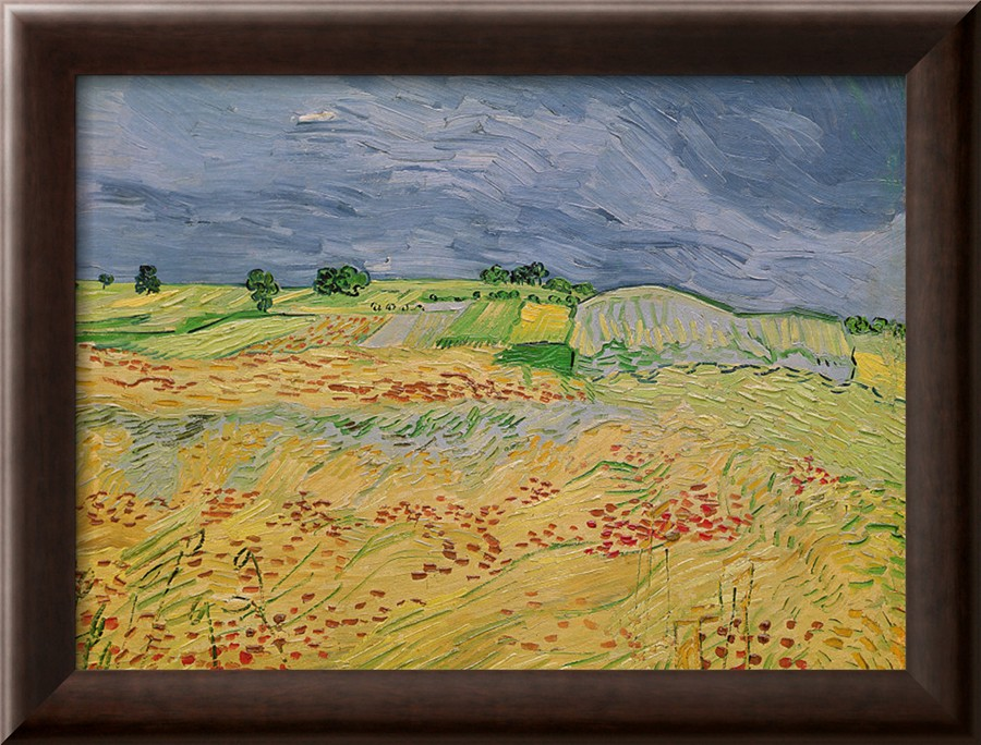 The Plain at Auvers - Vincent Van Gogh Paintings