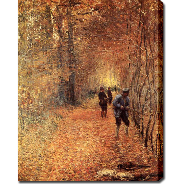 The Shoot - Claude Monet Painting