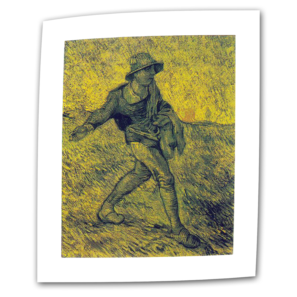 The Sower-Vincent Van Gogh oil on canvas