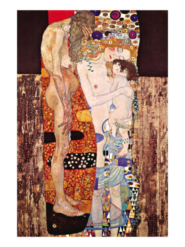 The Three Ages Of A Woman - Gustav Klimt Painting