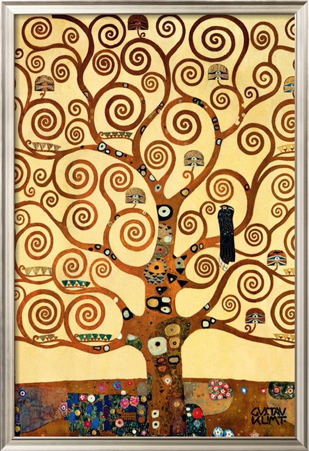 The Tree Of Life, Stoclet Frieze, C.1909 - Gustav Klimt Painting