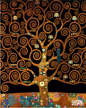 Under The Tree Of Life - Gustav Klimt Painting