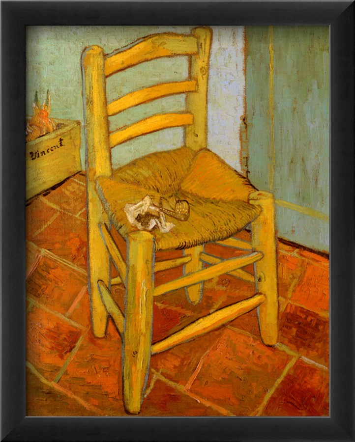 Van Gogh's Chair - Vincent Van Gogh Paintings