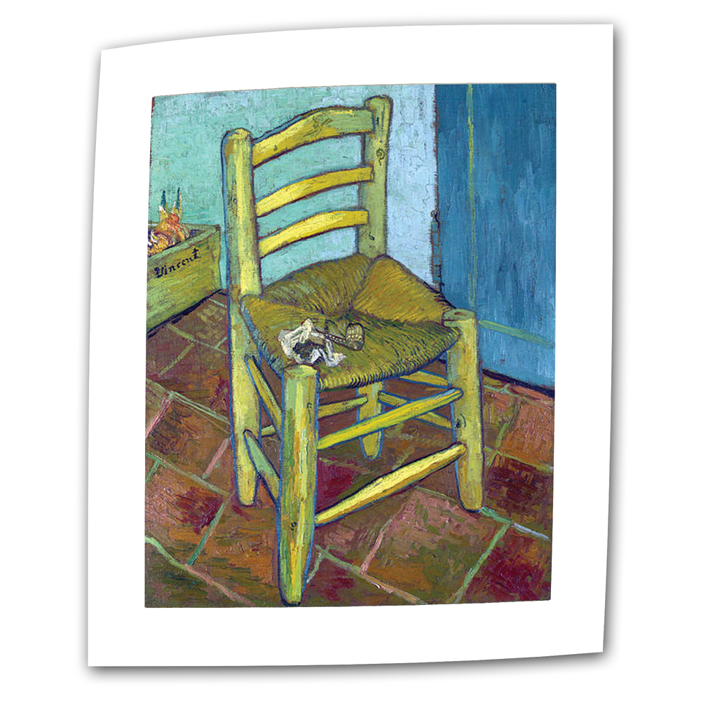 Vincent s Chair-Vincent Van Gogh oil on canvas