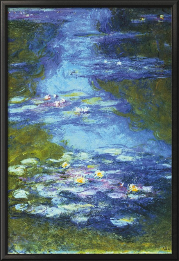 Water Lilies - Claude Monet Painting