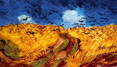 Wheatfield with Crows - Vincent Van Gogh Paintings
