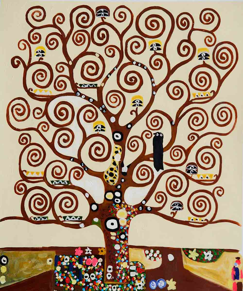 Tree Of Life - Gustav Klimt Painting